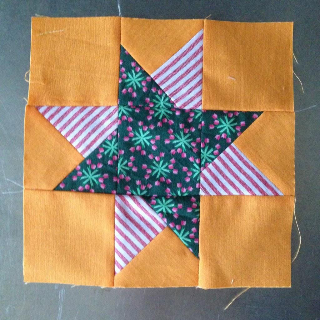 Wonky Stars und Windräder – Teil 3 und 4 des 6K12B-rowbyrow
